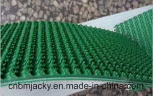 PVC PU Conveyor Belt with Diamond Rough Top Rhombus etc Surface pictures & photos