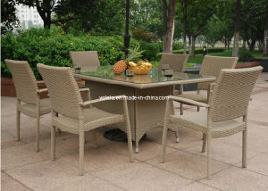 Wicker Outdoor Patio Diningroom Rattan Furniture pictures & photos