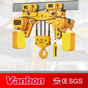 High Quality 10 Ton Low Headroom Type Hoist pictures & photos