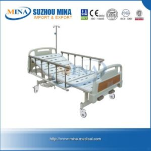 ISO\CE Manual Hospital Bed with Two Functions (MINA-MB105-B)