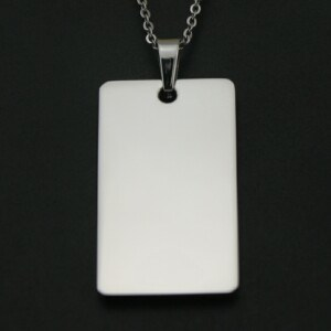 Provide Logo Engraved Jewelry Dog Tags pictures & photos