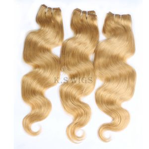 Machine Hair Virgin Remy Hair Extension pictures & photos