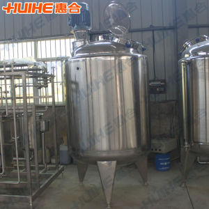 Stainless Steel Insultion Mixing Tank for Dairy pictures & photos