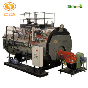 CE Approved Intelligent Gas Fired Steam Boiler