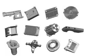 Kinds of Customize Aluminum Casting Parts pictures & photos