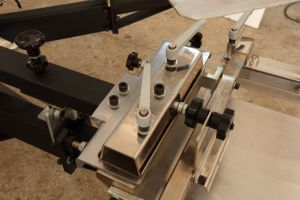 Heavy Duty Micro Registration Screen Printer with Side Clamps pictures & photos