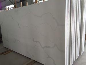 Calacatta Marble Modern Style Quartz Stone Countertop & Vanity Top pictures & photos