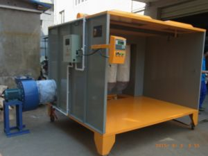 Powder Coating Spray Booth for Wheels Painting pictures & photos