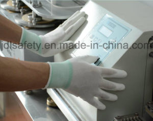 Nylon Work Glove with Knuckle Dipped PU (PN8010) pictures & photos