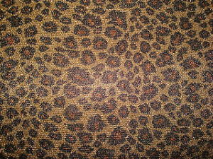 Print Leopard Design Poly/Golden Silver Thread Double Knitting Fabric pictures & photos
