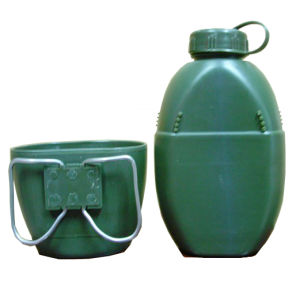 Plastic Military Army Water Bottle Canteen pictures & photos