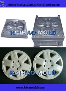 Plastic Car Wheel Cover Injection Mould (KH-2013005) pictures & photos