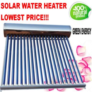 Compact Pressure Solar Water Heating System pictures & photos