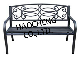 Outdoor Garden Metal Chair Cast Garden Iron or Aluminium Bench