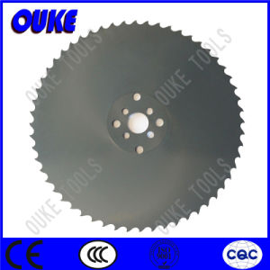 Crn Coated HSS Cold Saw Blade for Cutting Rubber pictures & photos