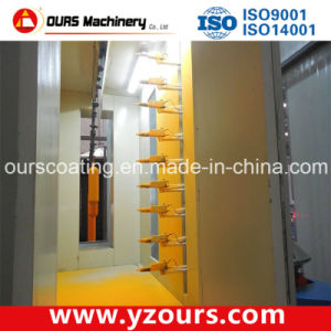 Customized Powder Coating Spray Booth with Best Guns pictures & photos