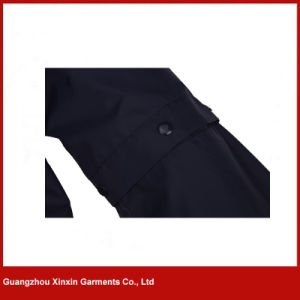 Factory Wholesale Custom Design Fashion Men Dark Blue Golf Jackets (J162) pictures & photos