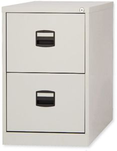 Office School Hospital Use Vertical Metal 2 Drawers File Cabinet pictures & photos
