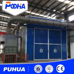 Customize Sandblasting Booth for Steel Beam Structure pictures & photos