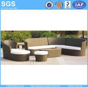 Rattan Garden Furniture Corner Sofa Set Ln-023 pictures & photos