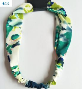 Spring Summer Printed Chiffon Beautiful Hair Accessory Headbands pictures & photos