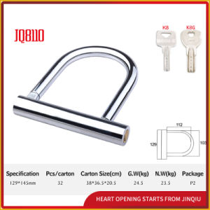 High Security Steel Anti-Theft U Shape Lock pictures & photos