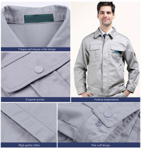 Anti--Wrinkle and Washing Endurance Work Uniform of Good Quality (PTBS--WK03) pictures & photos