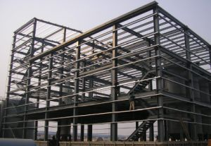 Logistic Warehouse Steel Frame Building pictures & photos