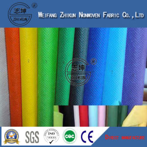 PP Non Woven Fabric in Cross Design pictures & photos