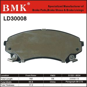 High Quality Brake Pad (LD30008) pictures & photos