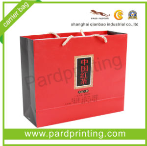 Fancy Paper Gift Packaging Carrier Bag (QBB-1437)
