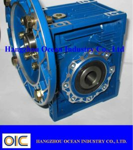 Aluminum Worm Gear Box Reducer pictures & photos