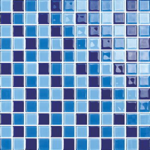Bathroom and Swimming Pool Pure Color Glossy Glass Mosaic (G423009) pictures & photos