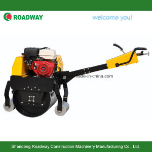 Walk Behind Single Drum Vibratory Road Roller pictures & photos