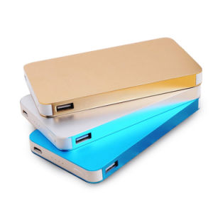 8000mAh Rectangle Shape Dual USB Power Bank with RoHS pictures & photos