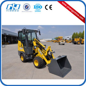 Yn725g CE Approved Hot Sale Mini Wheel Loader with Cabin pictures & photos