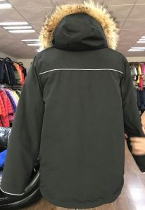 MID Length Winter Coat 80 Duck Down Keep Warm Minus 30 Degree Down Jacket pictures & photos