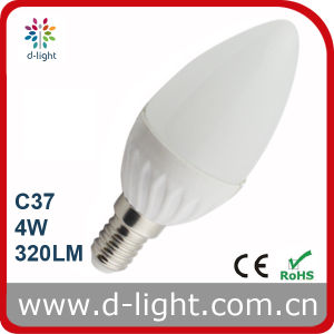 4W C37 High Lumen Ceramic LED Candle Light pictures & photos
