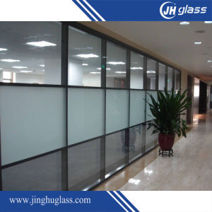 10mm Flat Sandblast Frost Glass for Office pictures & photos