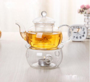 High Borosilicate Glass Tea Pot pictures & photos
