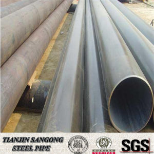 Material Q195 Welding Structural Black Pipe 5 Inch pictures & photos