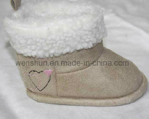 Lovely Heart Simple Designs Baby Boots