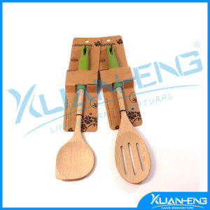Wooden Spoon Set 2 PC Chef Craft pictures & photos