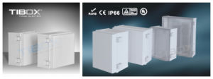 Plastic Box with Plastic Latch and Hinge Type pictures & photos