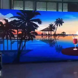 China Hot Sale Indoor LED Display Advertising Screen Panel Price, P3.91 LED Display Indoor TV Screen Module Price pictures & photos