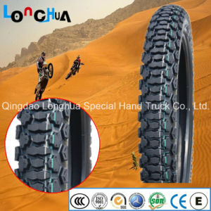 High Quality Natural Rubber Motocross Tire (3.00-17, 3.00-18) pictures & photos