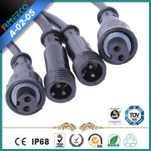 Circular Cable Power Waterproof Coupling Connector Factory Price