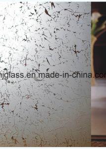 Silk Screen Glass, Mosaic Glass, Kitchen Door Glass, Window Glass pictures & photos