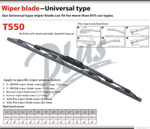 Car Accessories Frame Wiper Blade T550 pictures & photos
