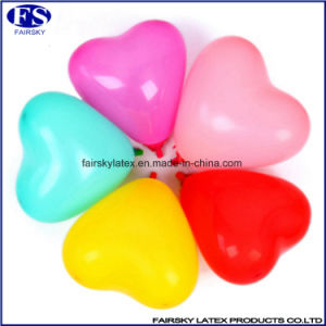 New Products Different Size & Color Heart Shape Latex Balloon pictures & photos